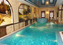 Сауна баня «Марафон» Пляжная зона - бассейн