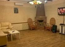 Сауна Эйфория второй этаж каминный зал фото