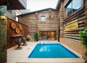 Бани Липецка с большим бассейном, гришина 1 баня Липецк